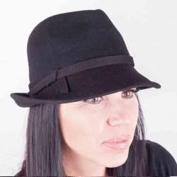 Černý dámský klobouk Assante 86978