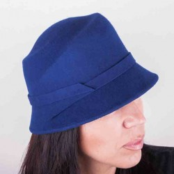 Modrý dámský klobouk Assante 86983