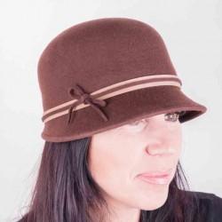 Hnědý dámský klobouk Assante 86993