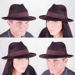 Hnědý klobouk Assante 85047