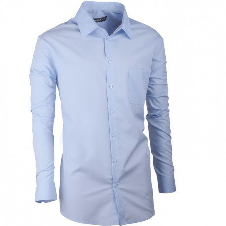 Pánská košile Assante regular fit modrá 30472