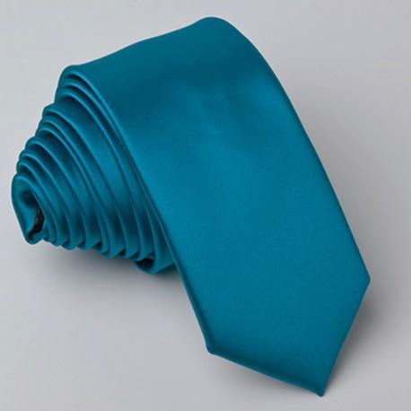Slim modrá kravata Greg 99147