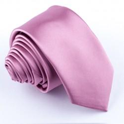 Úzká starorůžová kravata Arturo Gottini 99163