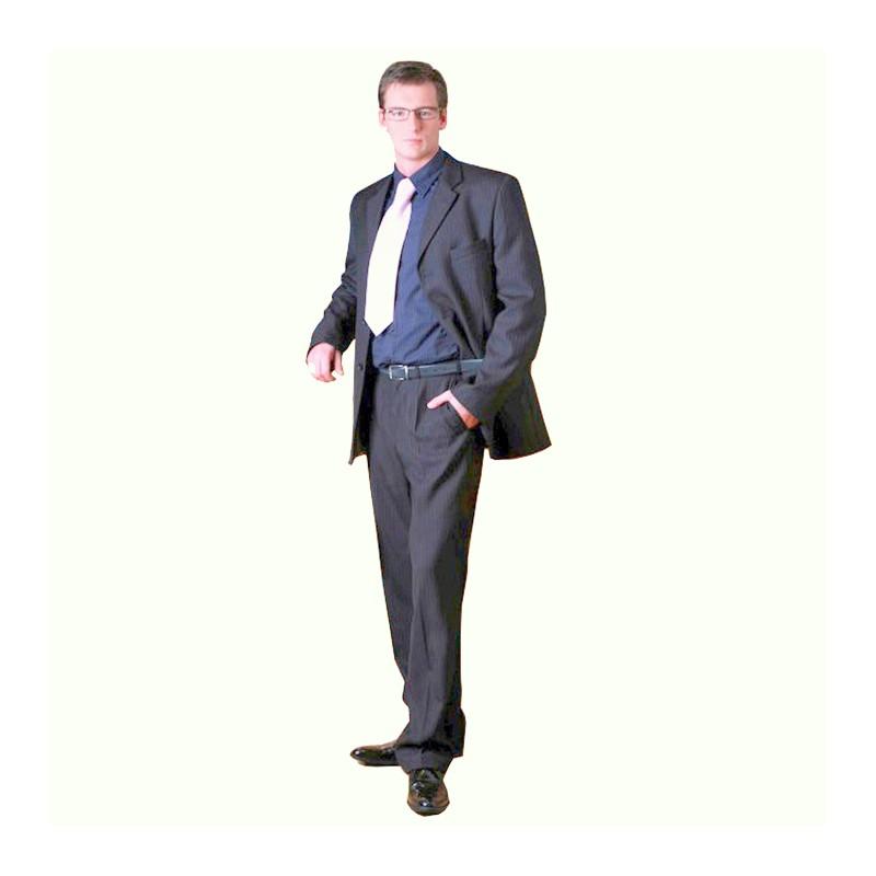 4e0a537ee74 Šedý pánský oblek společenský na výšku 182 - 188 cm Galant 160602 ...