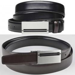 Černý pásek do kalhot Assante 90812