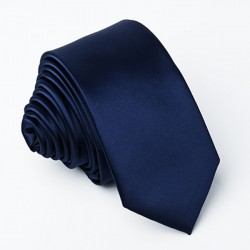 Slim kravata pruská modř Greg 99146