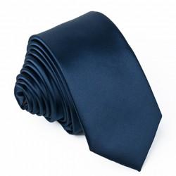 Petrolejová kravata slim modrá Greg 99149