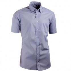 Šedá košile s knoflíčky v límečku Aramgad vypasovaná 40137