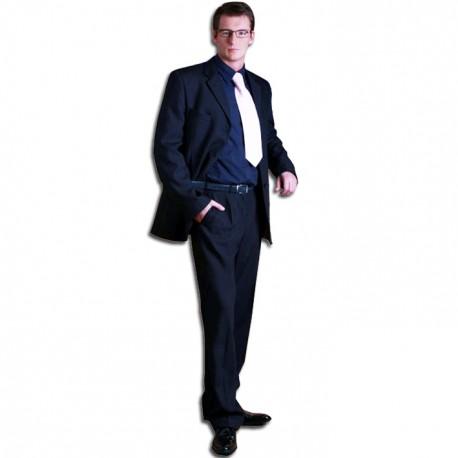 Modrý pánský oblek prodloužený na výšku 188 - 194 cm Federico Calvallini 160638