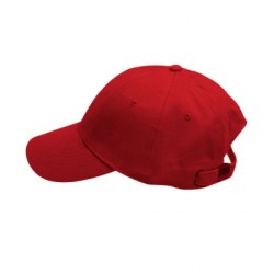 Červená baseballová kšiltovka 100 % bavlna Xfer 81147