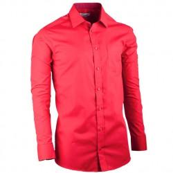 Červená pánská košile regular fit s dlouhým rukávem Aramgad 30383 d65157781c
