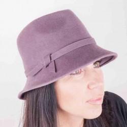Starorůžový dámský klobouk Assante 86972