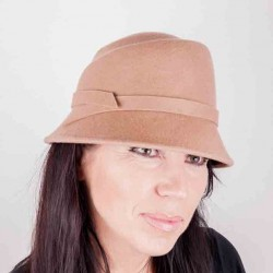 Béžový dámský klobouk Assante 86994