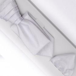 Svatební regata stříbrná Anglická kravata Assante 90692