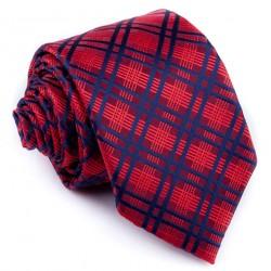 Bordó károvaná kravata Greg93188