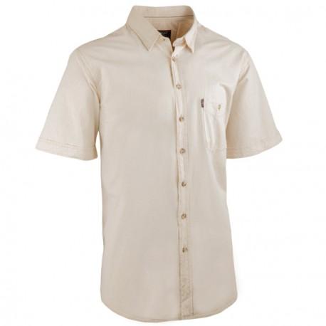 Režná pánské košile krátký rukáv rovný střih Tonelli 110821