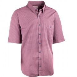 Červenošedá nadměrná košile 100 % bavlna Tonelli 110929