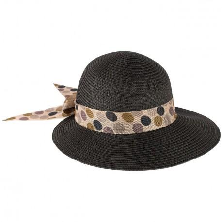 Letní klobouk barva černá Assante 161233