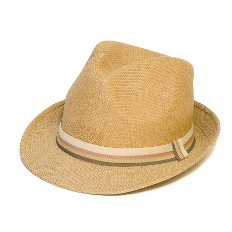 Letní klobouk barva písková Assante 161242