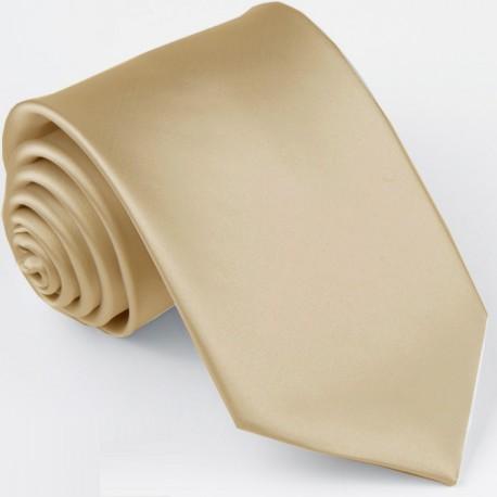 Světle šedá jednobarevná kravata Greg 99922