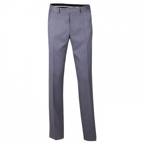 Nadměrné pánské šedé společenské kalhoty na výšku 176 – 182 cm Assante 60511
