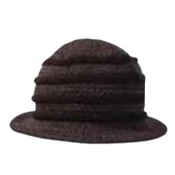 Černý klobouk dámský Pletex 87588