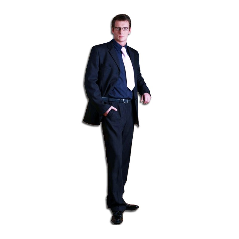 d54010fb610 Modrý pánský oblek prodloužený faVorite 160639