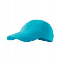 Tyrkysová baseballová čepice 100 % bavlna Adler 81168