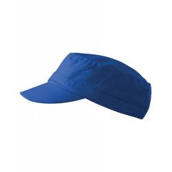 Královsky modrá čepice vojenského stylu Adler 81177