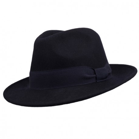 Modrý pánský klobouk Assante 85067