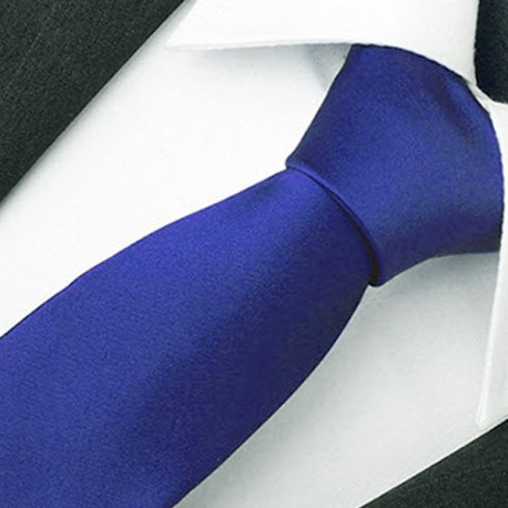 Modrá slim fit kravata Greg 99190