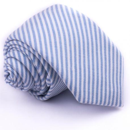 Modrá úzká kravata Greg 99401