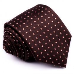 Hnědá kravata Greg 92002