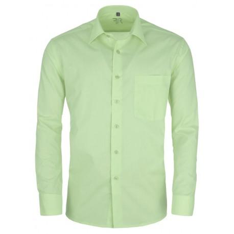 Zelená pánská košile s dlouhým rukávem slim fit Friends and Rebels 30512