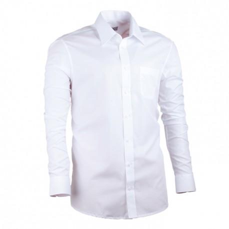 Bílá nadměrná pánská košile rovná Assante 31014