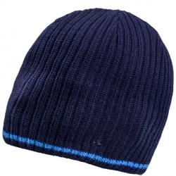Modrá pletená pánská čepice Assante 86004