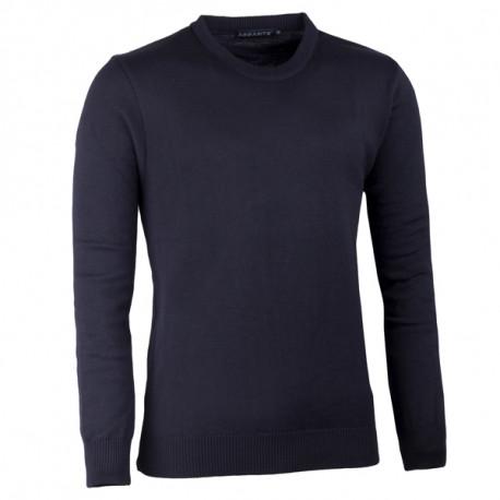 Černý pánský svetr ke krku Assante 51017