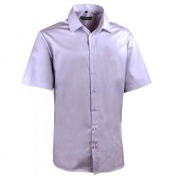 Pánská světle šedá košile regular Assante 40146