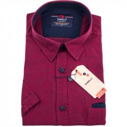 Červenočerná košile Tonelli 110836