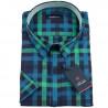 Modrozelená nadměrná košile Tonelli 110843
