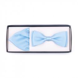 Pánský motýlek barva světle modrá Assante 90230