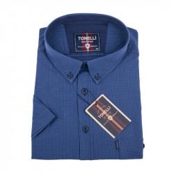 Tmavě modrá nadměrná košile Tonelli 110860