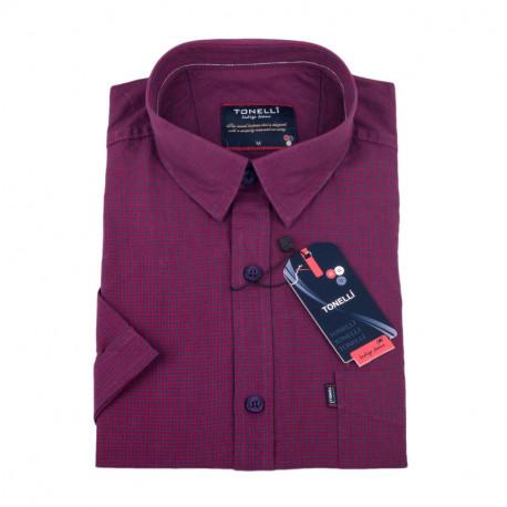 Vínová košile Tonelli 110853