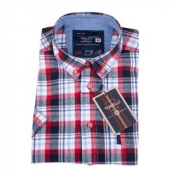 Červenomodrá košile Tonelli 110852