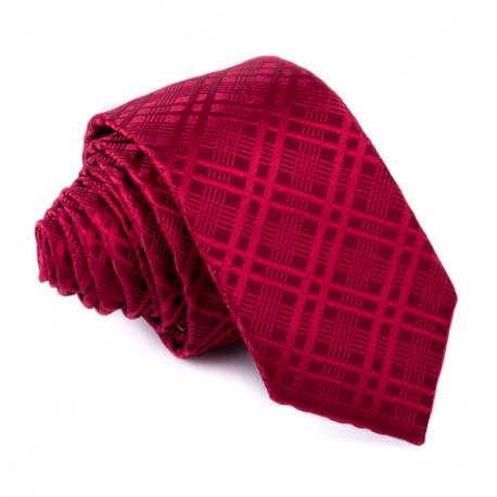 Burgundy kravata Greg 99314