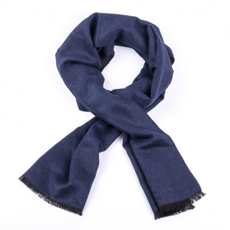 Modrá pánská šála Assante 89026