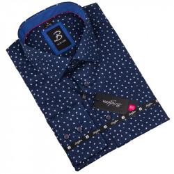 Košile Brighton modrá bílý puntík 110032