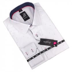 Košile Brighton bílomodrá 110033