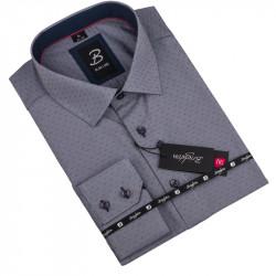 Nadměrná košile šedá Brighton 110040
